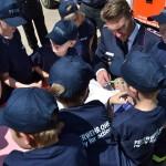 Kinderfeuerwehrwart Andy Peters schreibt mit den Jungen und Mädchen Geschichte