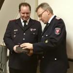 Glückwünsche zur Wahl überbringt auch Karsten Hein und dankt herzlich für die geleistete Arbeit der Mannschaft