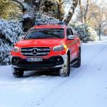 KdoW der Feuerwehr Ohe im Schnee, Januar 2021